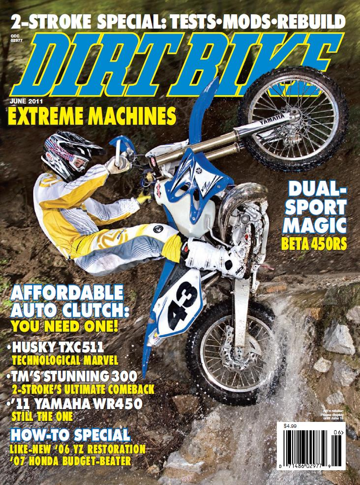 dirt bike magazine   june 11